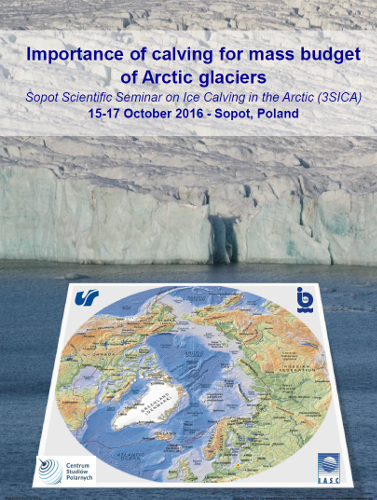 Importance of calving for mass budget of Arctic glaciers